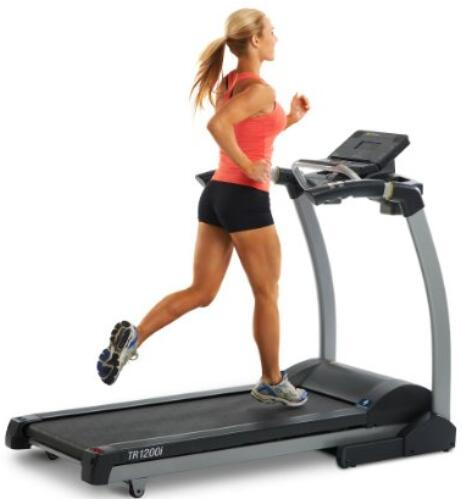 Incline LifeSpan TR1200i Folding Treadmill