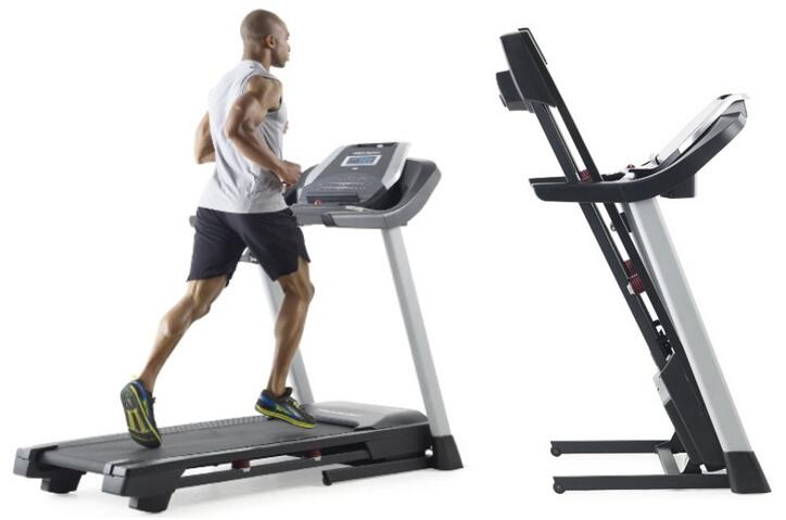 ProForm 505 CST Treadmill space save