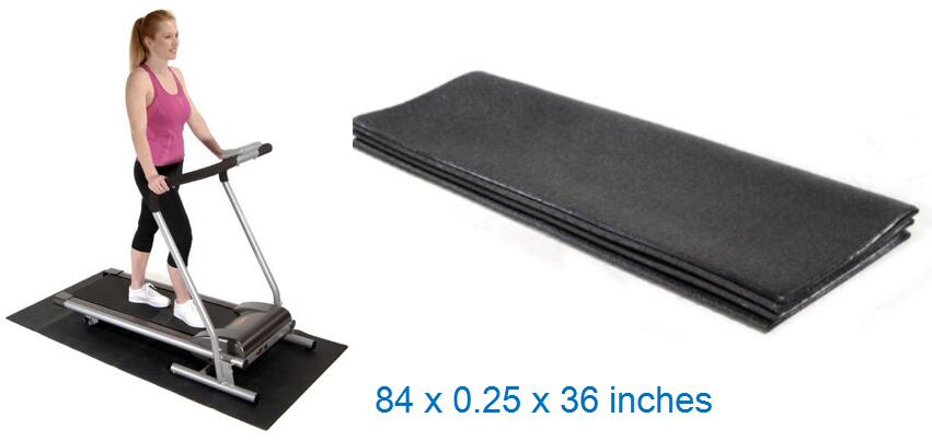 Stamina Fold-to-Fit Folding Equipment Mat For Carpet