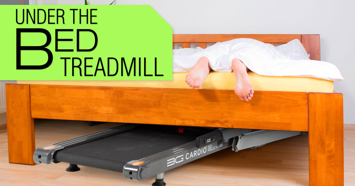 guides of under bed treadmill