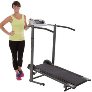 portable manual treadmill