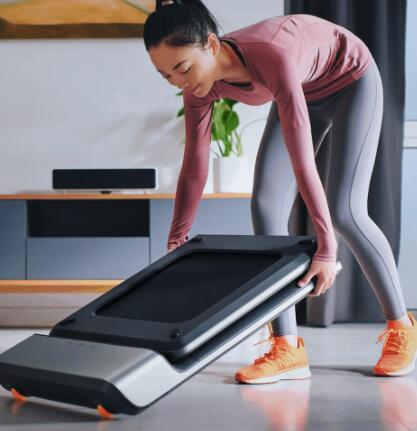 slim folding treadmill
