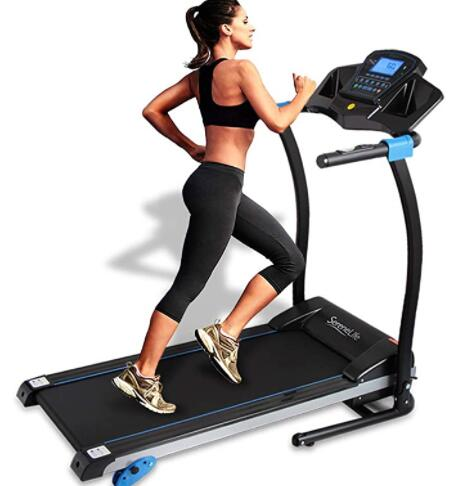 collapsible running treadmill