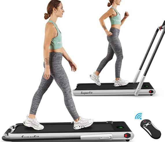 folding treadmill for light jogging